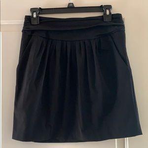 Diane von Furstenberg black skirt size 6